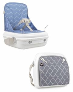 Easy to clean high chair booster