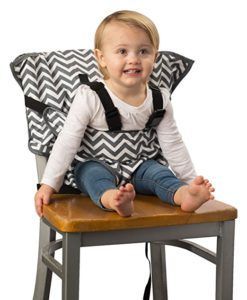 Fabric portable high chair