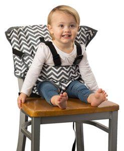 Fabric portable high chair