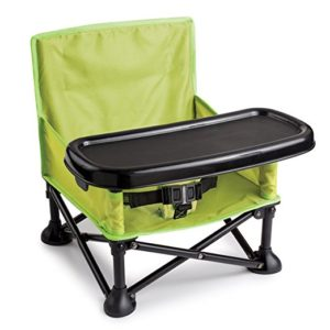 Pop-up portable high chair